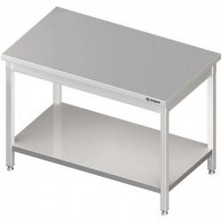 Stół centralny z półką...