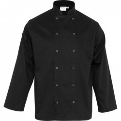 Bluza kucharska czarna CHEF...
