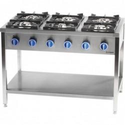 Kuchnia gazowa, 6...