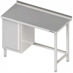 Stół przyścienny z szafką...